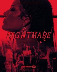 Halsey: Nightmare poster, t-shirt, mouse pad Nightmare Movie, Nightmare Quotes, Red Aesthetic, Aesthetic Photo, Aesthetic Pictures, Halsey Poster, I Dont Need Anyone, Hopeless Fountain Kingdom, Photo Wall Collage