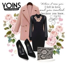"""""""Valentine's Day"""" by lialondon ❤ liked on Polyvore featuring women's clothing, women's fashion, women, female, woman, misses, juniors and yoins"""
