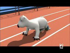 O fantástico mundo do atletismo. Pergunta ao Bernie para que serve o bloco de partida   educação física e desporto