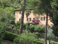 Frances Mayes house just outside of Cortona.