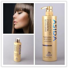 Professional hair shampoo and hair conditioner with keratin and argan oil 750ml, 3 minutes deep moisture freeshipping*