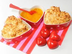 Souffle caliente de piña con salsa de naranja y vainilla