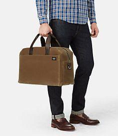 24fedf003492 Waxwear Overnight Bag Waxed Canvas Bag