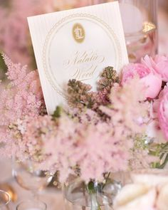 Regal table cards named for Old Hollywood movie stars
