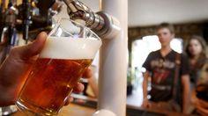 Pee into Beer. Cheers! haha