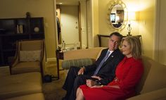 ann romney campaign trail | Mitt and Ann Romney watch the GOP convention proceedings on television ...