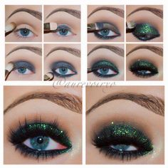 Sexy sultry eyes for a Hot night out