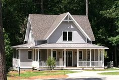 """The Perfect Farmhouse ~ Plan SL-1832 ~ Front Exterior 2 