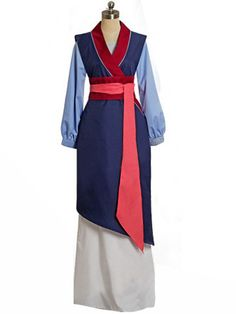 Disney Mulan Cosplay Dress for adult and Kids  sc 1 st  Pinterest : disney mulan costumes  - Germanpascual.Com