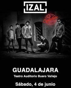 Nueva fecha en la gira #Copacabana! Será el sábado 4 Junio en GUADALAJARA en el Teatro Auditorio Buero Vallejo.  Apertura de Puertas: 20:00h / Concierto: 20:30h  Link venta de entradas - Ibercaja: http://ift.tt/1XJyRgE FELIZ MARTES! by izalmusic