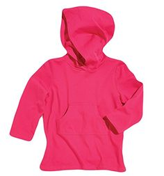 Sun Smarties Toddler Cotton Hoodie Sun Protection Beach Swim CoverUp Pink 3T ** Visit the image link more details.