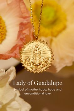Jewels Obsession Our Lady Guadalupe Pendant 22 mm Sterling Silver 925 Our Lady Guadalupe Pendant