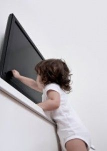 Is your flat screen TV sitting on furniture? Properly secure your flat screen TV if you have young children in the house. A must read for young families - Debbie's Blog from Mrs. G TV & Appliances