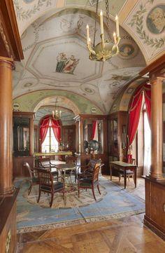 Percier and Fontaine - Chateau de Malmaison, Library - 1800
