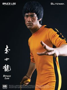 Bruce Lee 40th Anniversary Tribute Statue Game Of Death 1/3 Scale BLITZWAY