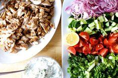 chicken gyro salad – smitten kitchen