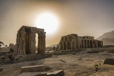 The ruins at Luxor.   51 Reasons To Fall In Love With Egypt