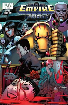 Preview of Empire: Uprising #1 by Waid & Kitson (IDW)