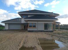 Dom z Widokiem Architecture Building Design, Home Fashion, Villa, House Design, Flat, House Styles, Outdoor Decor, Life, Home Decor