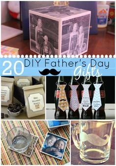 20 DIY Father's Day Gifts