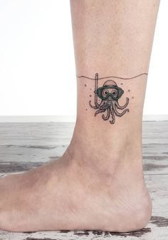 small and charming tattoos by Ahmet Cambaz from Istanbul - TheTatt - Tat . - small and charming tattoos by Ahmet Cambaz from Istanbul – TheTatt – tattoos - Funny Small Tattoos, Clever Tattoos, Cool Small Tattoos, Little Tattoos, Small Tattoo Designs, Funny Tattoos, Pretty Tattoos, Mini Tattoos, Tattoos For Women Small