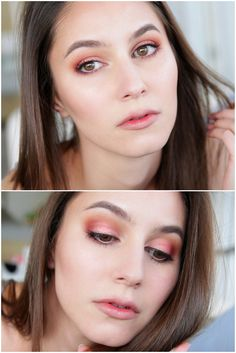 ***Lid: Mix of Makeup Studios Be Bronze and Fuchsia Fantasy cream eyeshadows to create a custom rose gold shade (sub RBR tantalizing lovebird) ***Socket: Makeup Geek Creme Brûlée & Cocoa Bear ***Outer Corner: a touch of Makeup Geek Bitten, a burnt reddened shade