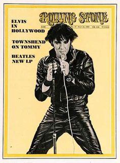 Elvis Presley - Rolling Stone Magazine [United States] (12 July 1969)