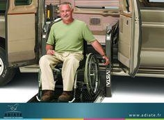 Pour votre bien être, les véhicules destinés au transport des personnes à mobilité  réduite sont équipés d'un dispositif spécifique pour assurer un transport en toute sérénité. Ils disposent d'un accès direct du fauteuil roulant à l'intérieur du véhicule.