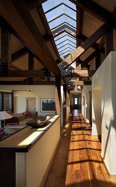Hallway, Ranch in Franktown.