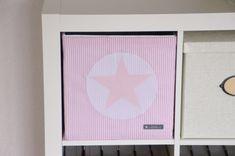 Kisten & Boxen - Bezug für Aufbewahrungsbox - ein Designerstück von Marjas-Stoffstern bei DaWanda