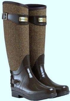 Laars bruin tweed