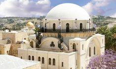 de hurva synagoge is een joods gebedshuis in Jeruzalem die in de 16e eeuw is  gebouwd en in 1864 af was