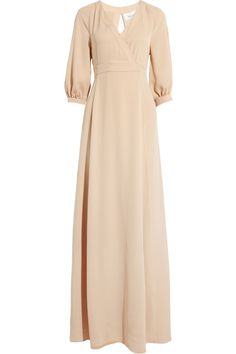 Silk-twill gown by Valentino Hijab Fashion, Fashion Dresses, Nice Dresses, Dresses For Work, Prom Dresses, Valentino Gowns, Couture, Dress To Impress, Designer Dresses