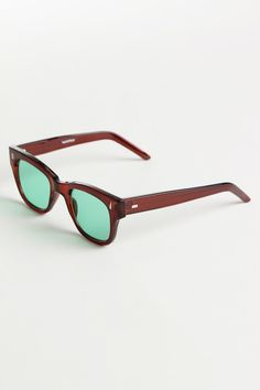 Spitfire MX1 Sunglasses Brown/Green