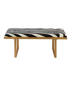Loving this Zebra Print Sofia Loft Coffee Table on #zulily! #zulilyfinds