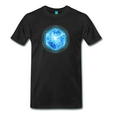 Metatrons Cube with TESSERACT, Hypercube 4D,  Symbol - Dimensional Shift,  T-Shirt | Spreadshirt | ID: 25558862