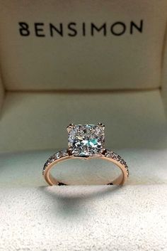 How Are Vintage Diamond Engagement Rings Not The Same As Modern Rings? If you're deciding from a vintage or modern diamond engagement ring, there's a great deal to consider. Wedding Rings Simple, Wedding Rings Solitaire, Wedding Rings Rose Gold, Wedding Rings Vintage, Bridal Rings, Elegant Wedding, Wedding Bands, Dream Wedding, Women Wedding Rings