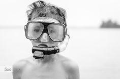 Jo the Snorkeler (iii) by Laurens Kaldeway on 500px