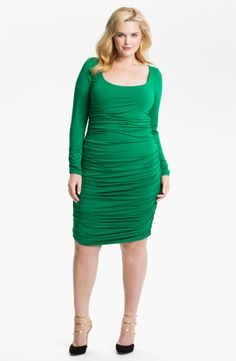 Rachel Pally 'Misha' Shirred Knit Sheath Dress   YOWZA!