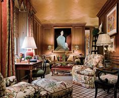 Image from http://betweennapsontheporch.net/wp-content/uploads/2013/05/04_mario_buatta.jpg. Mario Buatta: Fifty Years of Interior Decoration