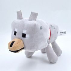 New Minecraft Toys High Quality Minecraft Plush Toys Children's Christmas gifts wolf