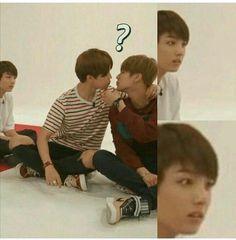 Ahhahahah vmin or vkook Jikook, Bts Memes, Seokjin, Namjoon, Yoonmin, Bts Boys, Bts Bangtan Boy, Manga Sport, Kpop