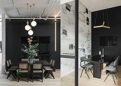 konferenzraum büromöbel interior pendelleuchten innendesign #space #coworking #interiordesign