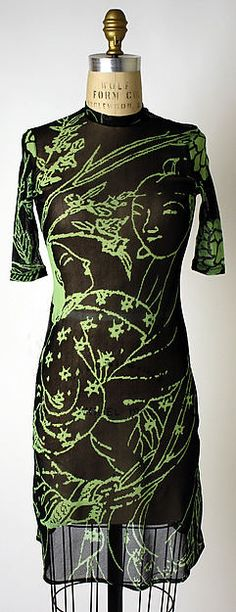 Dress, synthetic, Vivienne Tam designer, American, 1996