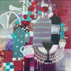 Through the Looking Glass by Scottish Contemporary Artist Emma DAVIS