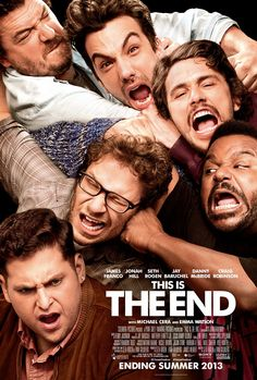 "The comedy ""This Is The End"" follows six friends trapped in a house after a series of strange and catastrophic events devastate Los Angeles. As the world unravels outside, dwindling supplies and cabin fever threaten to tear apart the friendships inside. Eventually, they are forced to leave the house, facing their fate and the true meaning of friendship and redemption."