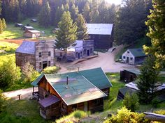 """Garnet, Montana Ghost Town, 2008. If you've been to any of Montana's other well-known ghost towns like Virginia City or Bannack, you'll find Garnet just as intriguing if not even more so.  Read """"Garnet - Montana's Best Kept Ghost Town Secret"""" http://www.legendsofamerica.com/mt-garnet.html"""