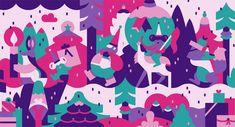 FIKA — Packaging Illustrations for Isetan on Behance