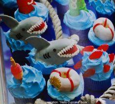 """I am going to attempt to make these for Greysen's family birthday party tomorrow.  This will probably result in one of those """"Pinterest Fails"""" but I am going to give it my all! Haha"""