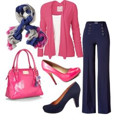 Pretty in Pink, created by me on Polyvore